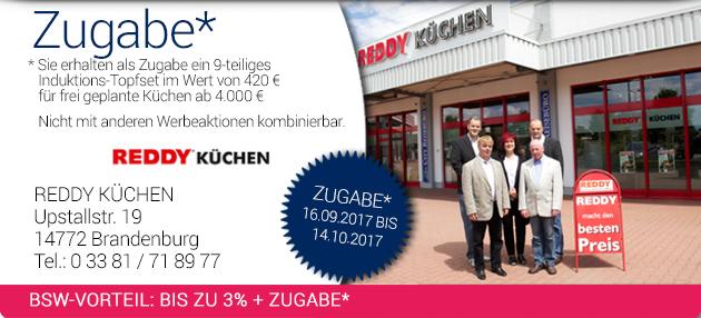 REDDY KÜCHEN: bis zu 3% | bsw.de