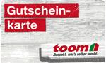 toom Baumarkt Gutschein